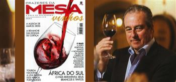 João Portugal Ramos - Revista Prazeres da Mesa - Brasil